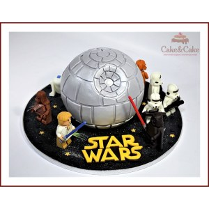 "Lego Star Wars cake ""Death Star"""