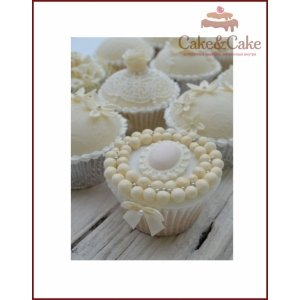 Сupcake `Vintage wedding`