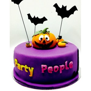 Halloween cake `Party pumpkins`
