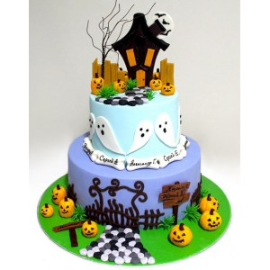 Halloween cake `Party`